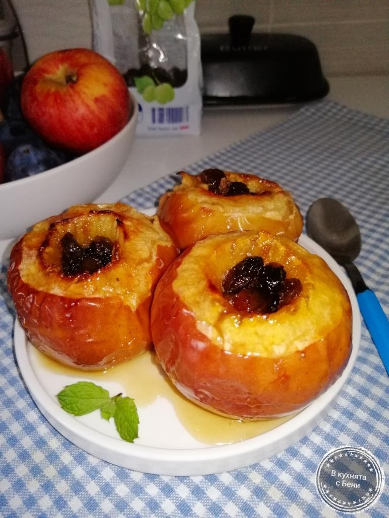 Печени ябълки от https://inthebeniskitchen.com/