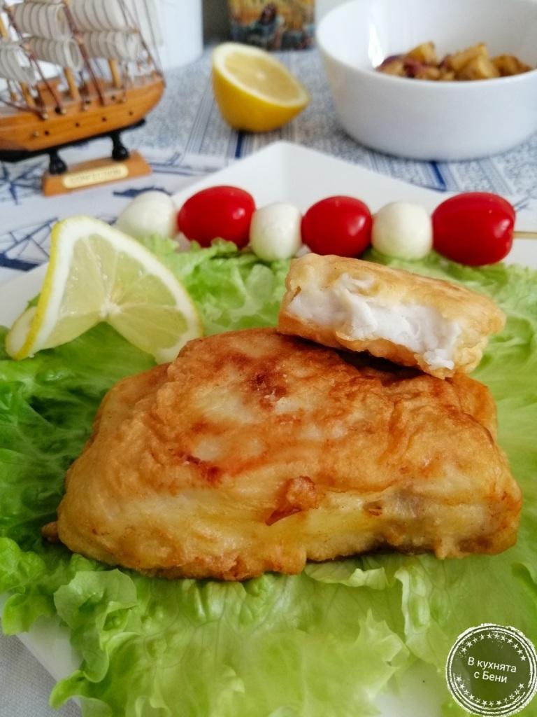 Панирана риба-толстолоб от https://inthebeniskitchen.com/