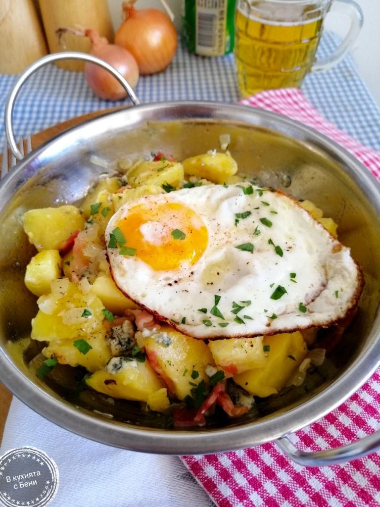 Ястие с картофи от https://inthebeniskitchen.com/