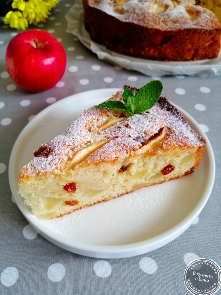 Сладкиш с ябълки от https://inthebeniskitchen.com/