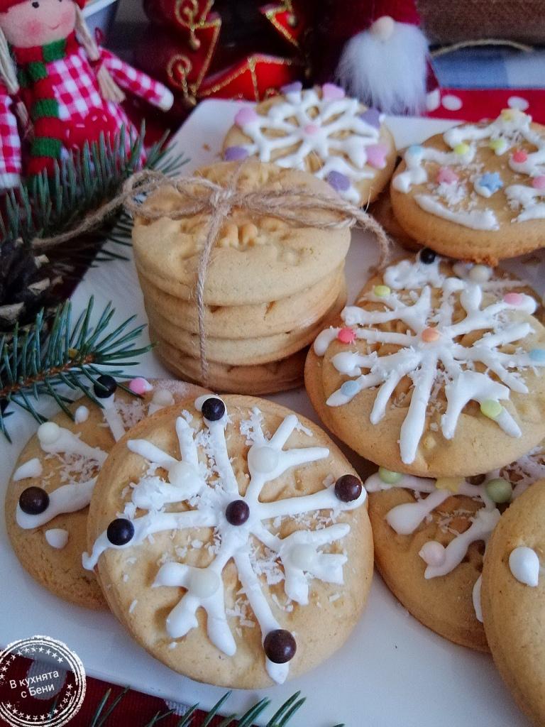 Коледни меденки от https://inthebeniskitchen.com/
