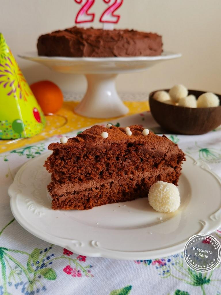 Шоколадова торта от https://inthebeniskitchen.com/
